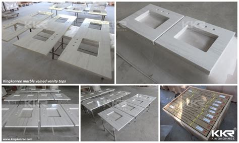 one piece bathroom sink and countertop artificial quartz one piece bathroom sink and countertop