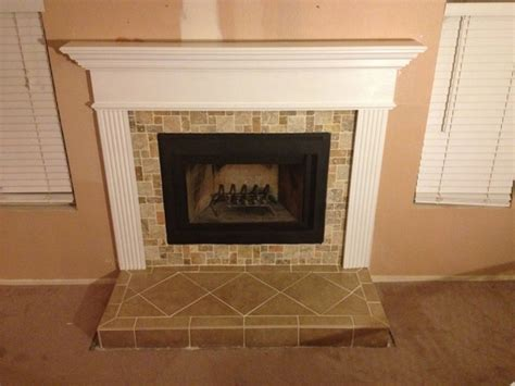empire 52 inch profile wooden mantel with standard trim