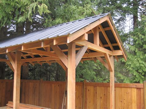 Post And Beam Shed Kits by Custom Small Post And Beam Structures Peerless Forest