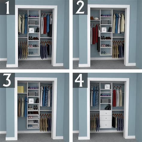 closet layout ideas design ideas for 6 foot 3 foot and 2 foot reach in