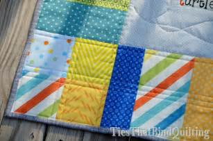 Quilting Lines by Line Quilting Ties That Bind Quilting