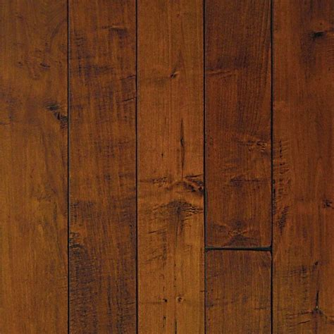 Millstead Wood Flooring handscraped maple spice 3 4 in thick x 5 in width x