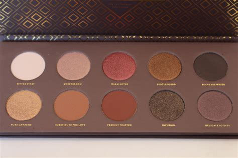 Zoeva Cocoa Blend Palette zoeva cocoa blend palette review swatches really ree