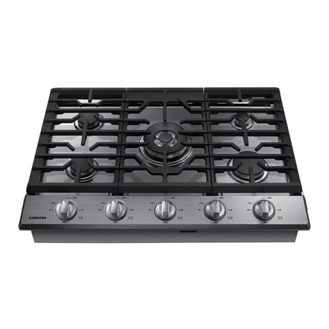 best gas cooktop 30 samsung 30 in gas cooktop in stainless steel with 5