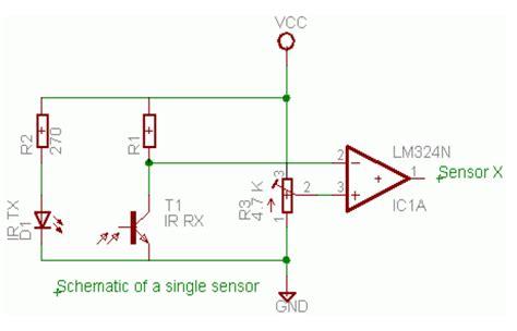membuat robot line follower tanpa program cara membuat robot line follower microcontroller tanpa lcd