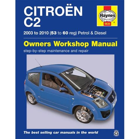 Haynes Workshop Manual Citroen C2 2003 2010
