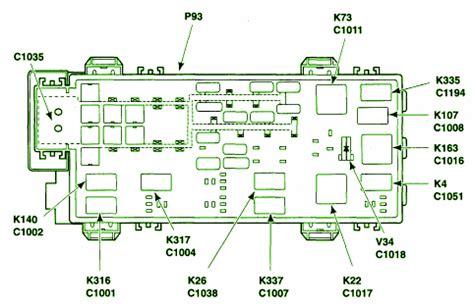 2006 ford ranger battery fuse box diagram circuit wiring