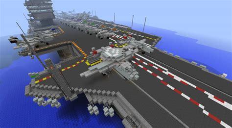carrier for plane aircraft carrier uss enterprise cvn 65 minecraft project
