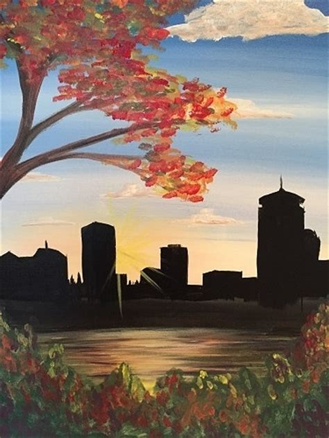 paint nite orlando coupon code paint nite city of fall