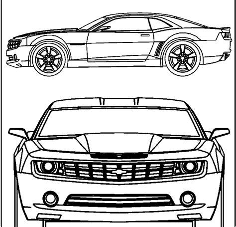 Camaro Coloring Pages Coloring Home Camaro Coloring Page