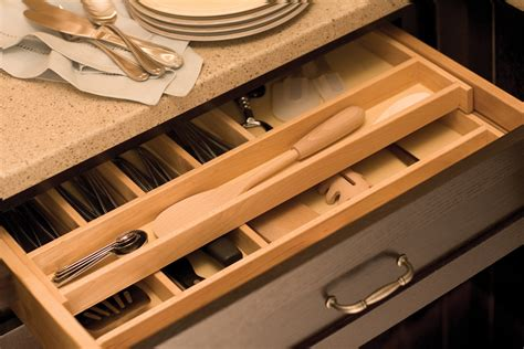 cutlery drawer organizer ideas storage solutions kitchen organization dura supreme