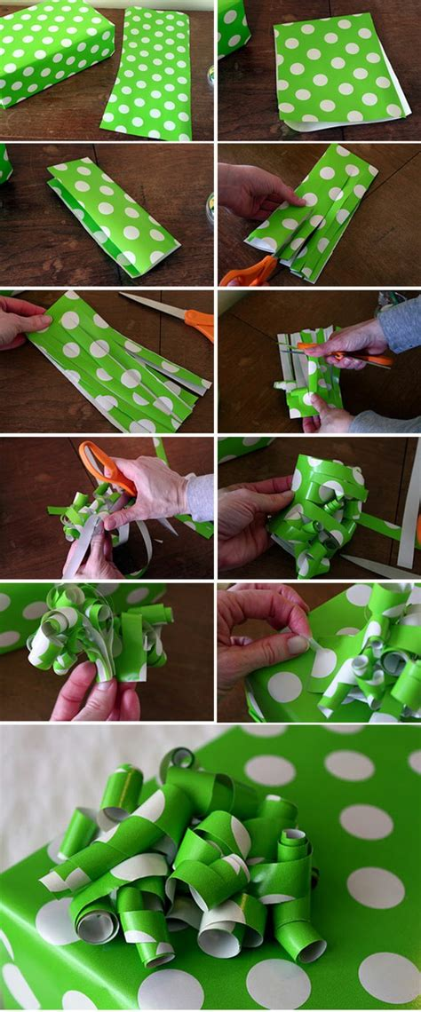 Make A Bow Out Of Wrapping Paper - two yellow birds decor wrapping paper bow