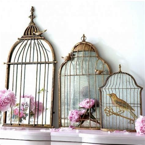 birdcage home decor give your home a chic decor by reusing your old bird cage