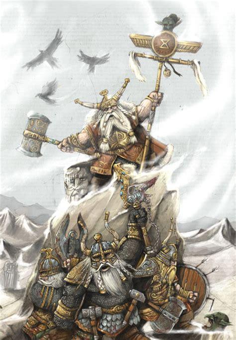 Dwarfs Warhammer palurin warhammer caign kingdom defends its realm
