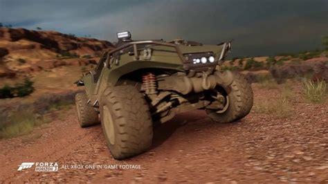 halo warthog forza horizon 3 halo warthog in forza horizon 3 gameplay trailer