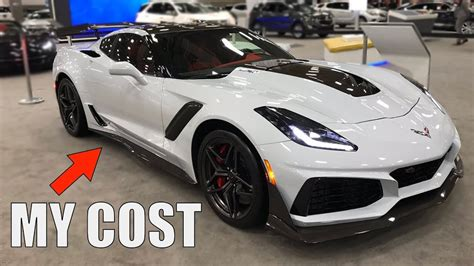 Zr1 Corvette Price by How Much My 2019 Corvette Zr1 Cost