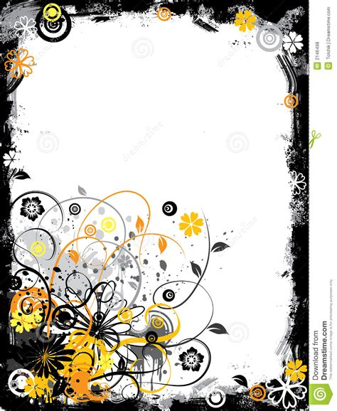 grunge flower frame royalty free stock image image 3187236 grunge floral border vector stock vector illustration of retro border 2146498