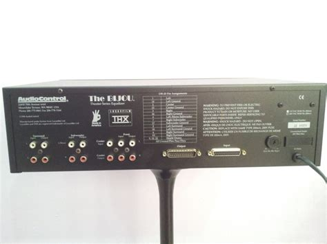 Equalizer Untuk Home Theater audiocontrol the bijou 7 channel home theater equalizer nos
