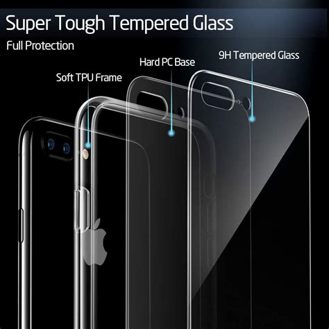 iphone 8 plus 7 plus mimic tempered glass