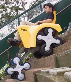 Electric Wheelchair That Climbs Stairs by Stair Climbing Wheel Chair Interestingasfuck