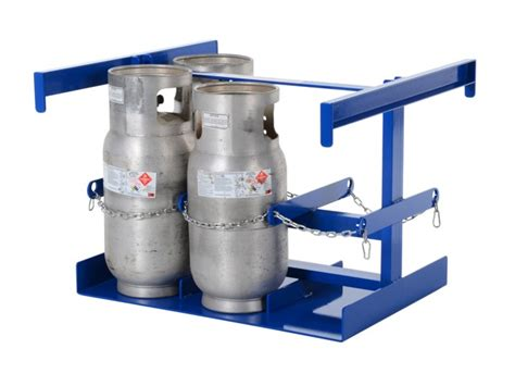 Propane Cylinder Storage Rack by 6 Cylinder Vertical Forklift Cylinder Storage Rack