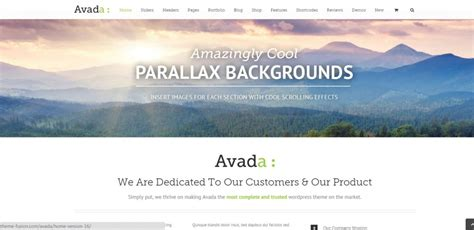 10 parallax wordpress themes that make it easy on you