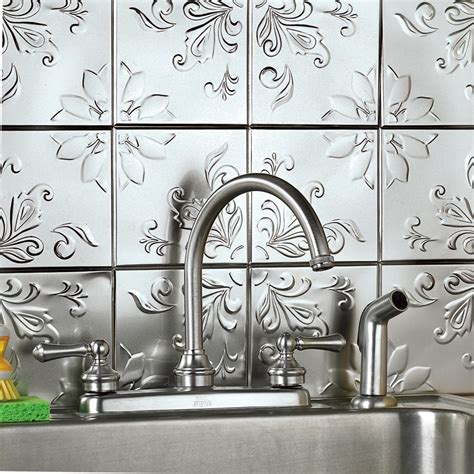 peel and stick metal backsplash selecting a tile pattern for wall tile or a backsplash d