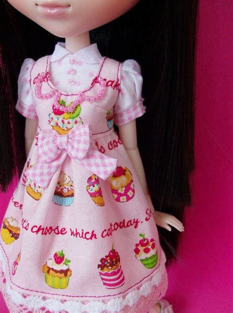 pattern pullip clothes sweet lolita outfit for pullip by squishtish on etsy