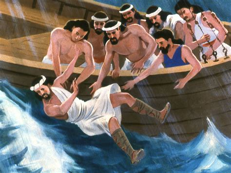 jonah thrown off the boat jonah learning about god through nature 171 re start