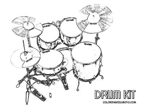 musical drums coloring drums free musical drum kits