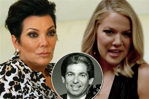 khloe kardashian and her real father kris jenner breaks down when khloe reveals she connected