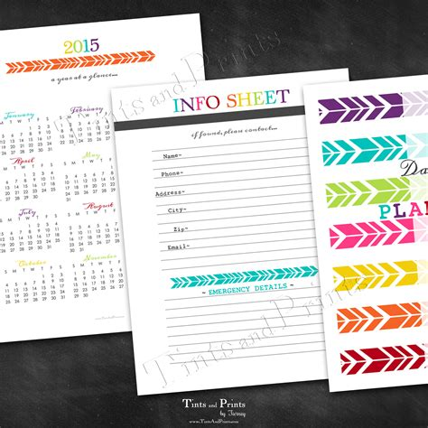 printable planner 2015 pinterest happy 2015 printable daily planner calendar
