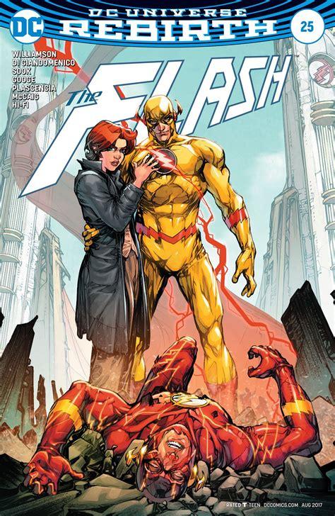 flash  variant cover fresh comics