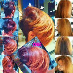 hot atlanta short hairstyles razor chic on pinterest