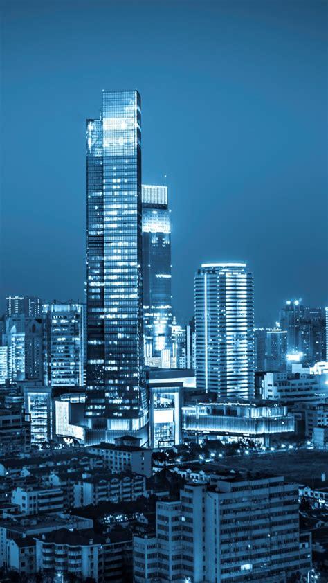 wallpaper city nightscape cityscape urban modern