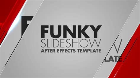 Funky Slideshow After Effects Template Bluefx After Effects Quote Template
