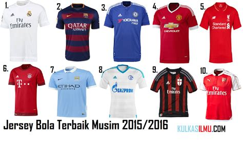 desain jersey klub eropa 10 jersey klub terbaik musim 2015 2016 kulkaskur