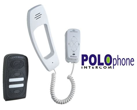 centurion gate motors intercoms centurion polo phone kit