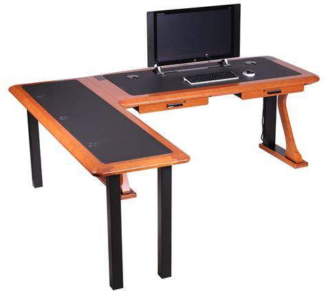 l shaped desk with left artistic computer desk l shaped left caretta workspace