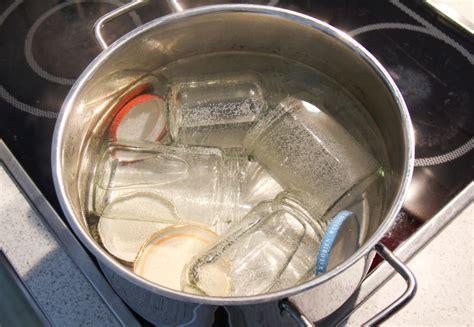sterilisieren vor dem einkochen glaeser deckel richtig