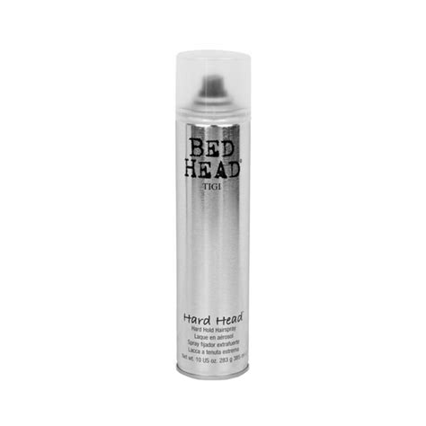 bed head hard head hairspray tigi bed head hard head hairspray 385 ml 163 6 25