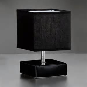 Bedside Table With Light Reading Light Design Table L Chrome Deco Light Black