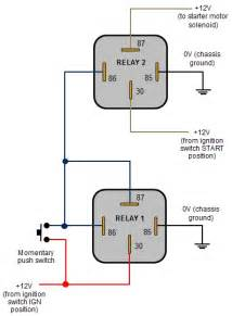 12v automotive relay wiring diagram 35 wiring diagram