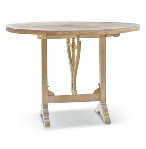 Wood Bistro Table Bordeau Country Wood Folding Bistro Table Kathy Kuo Home