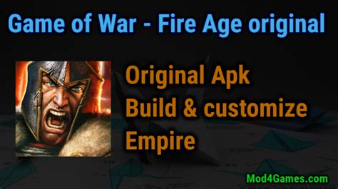 mod apk game of war game of war fire age game apk for free archives