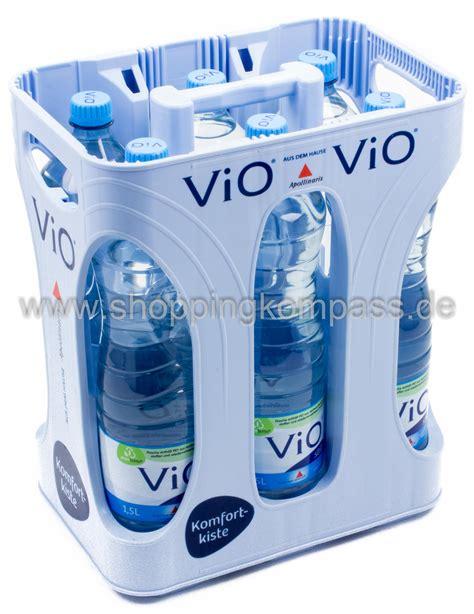 1 kasten wasser mineralwasser apollinaris vio mineralwasser still kasten