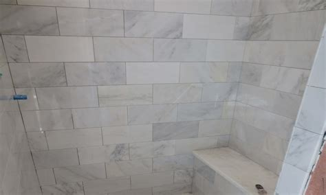 white marble subway tile bathroom 28 images marble hex tiles transitional bathroom