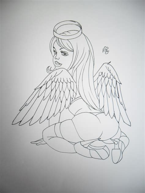 angel and demon tattoo images for tatouage