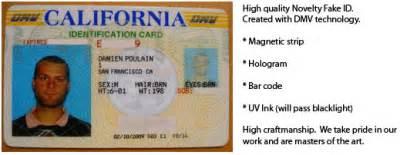 California Id Template by Pin California Id Template On