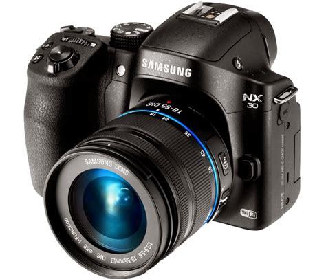 Kamera Samsung Nx30 samsung nx30 kamera mirrorless 20 3 mp dengan fitur transfer foto ke smartphone digitalizer